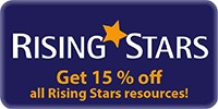 15% off all Rising Stars Resources